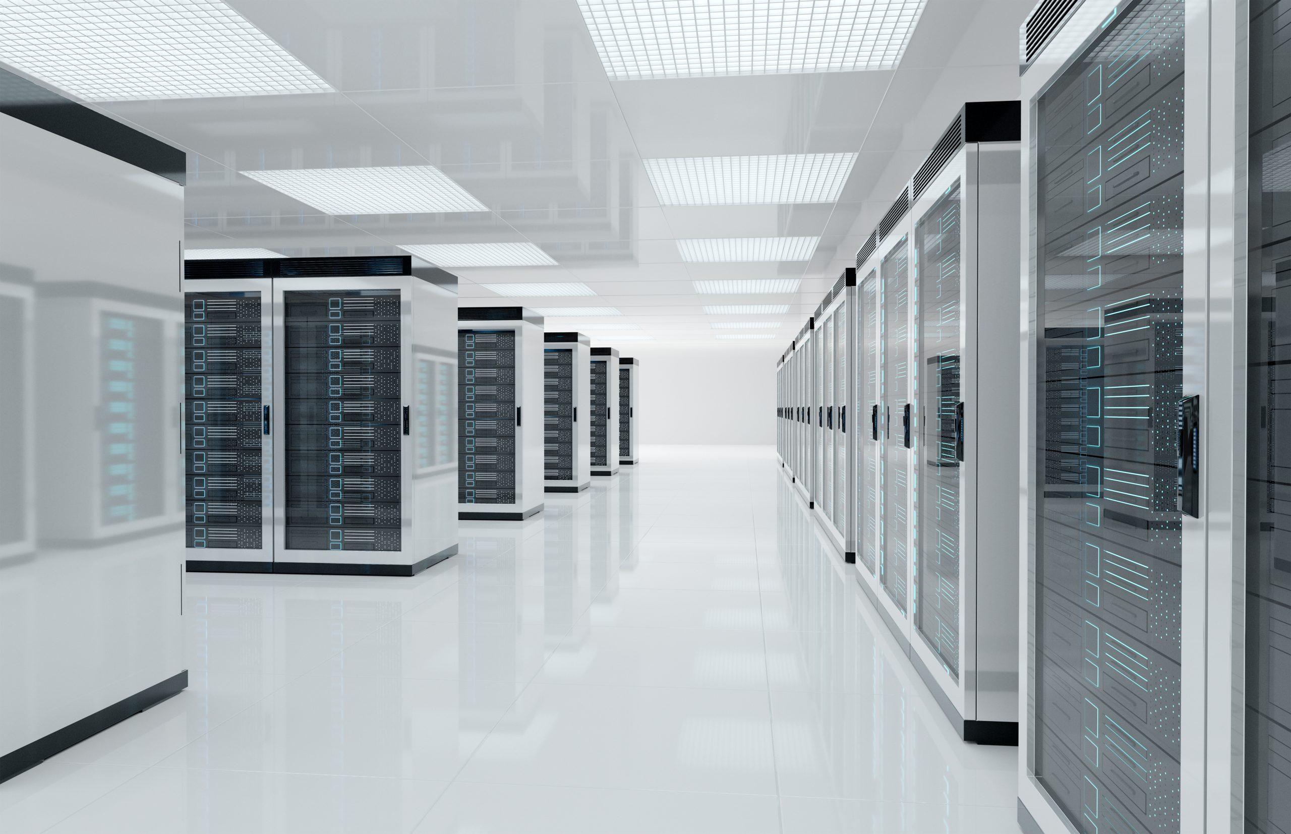 servers center room